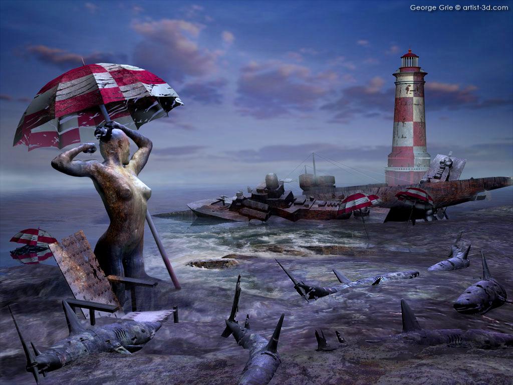 Surrealism Art HD desktop wallpaper : High Definition : Fullscreen ...
