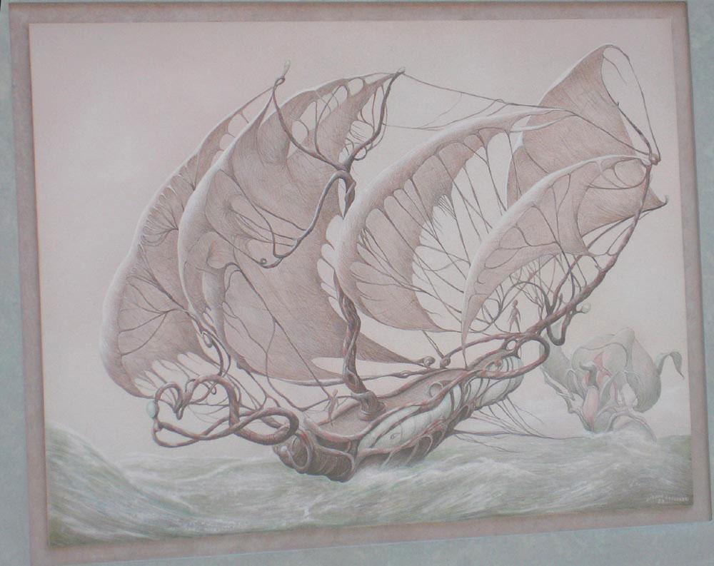 Fine Line Design Art Gallery : Modern surrealism fantasy art gallery erotica images