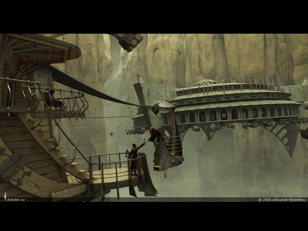 design wallpapers modern 3d sci fi surrealism