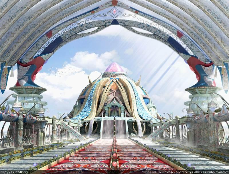 کاخ رنگ و طرح --- قصری از طرحهای زیبا و رنگهای چشم نواز