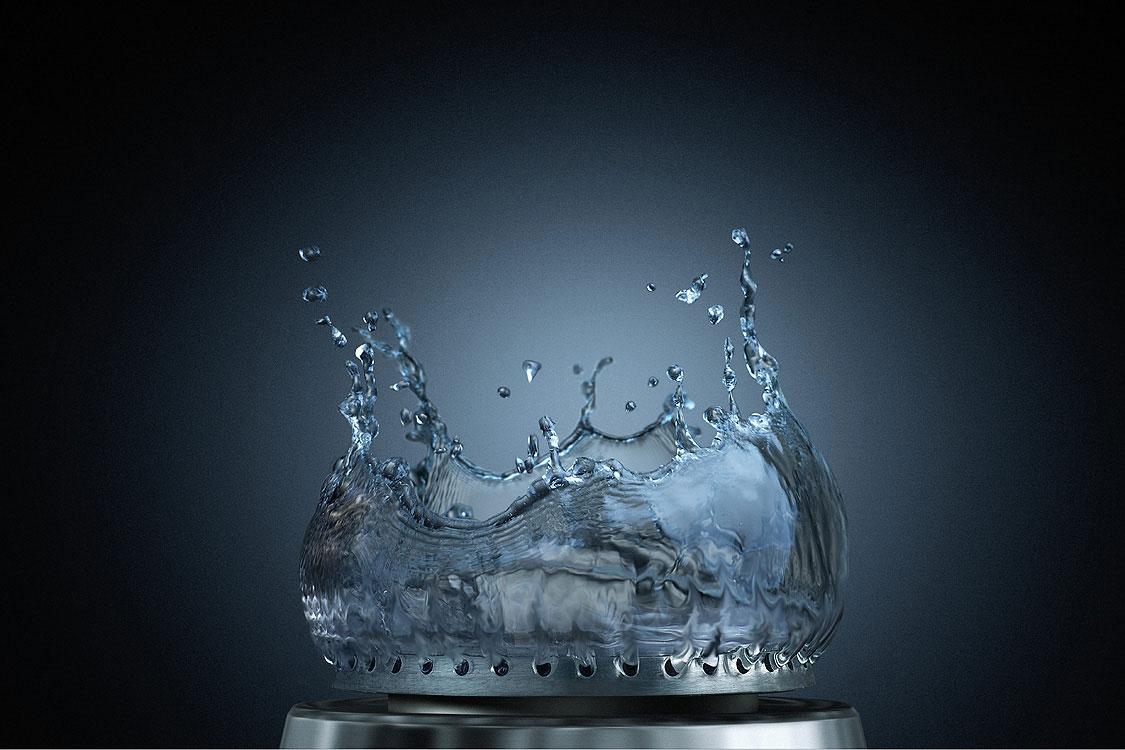 اجاق آب سوز --- اجاقی که به جای گاز با آب می سوزد - طراحی فانتزی