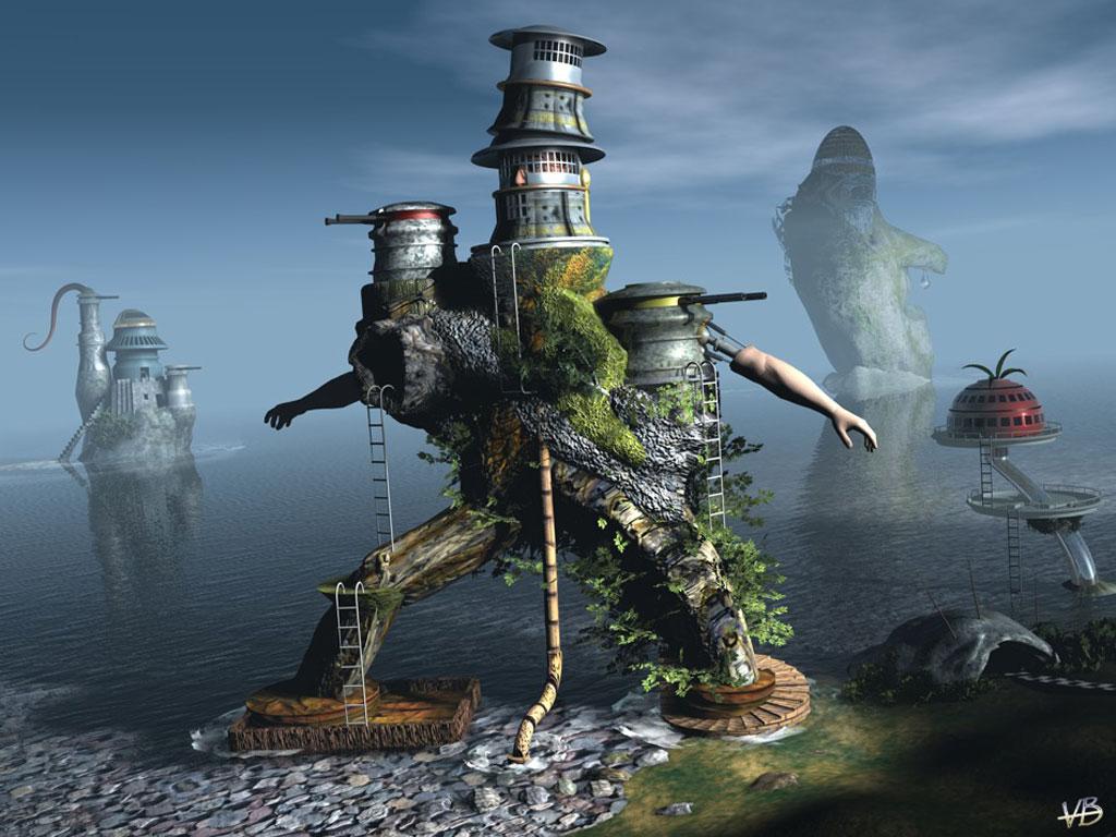 3d art wallpapers digital fantasy artist free desktop - Fantasy wallpaper digital art ...