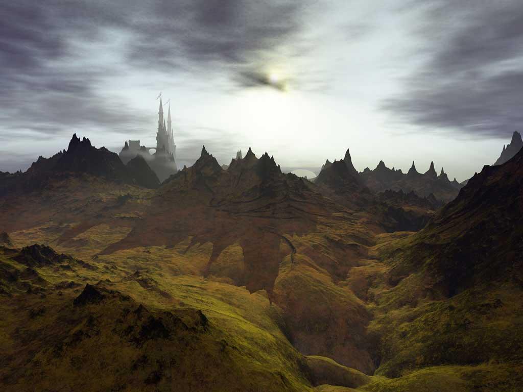 3D art wallpapers digital fantasy artist: free desktop background design downloads
