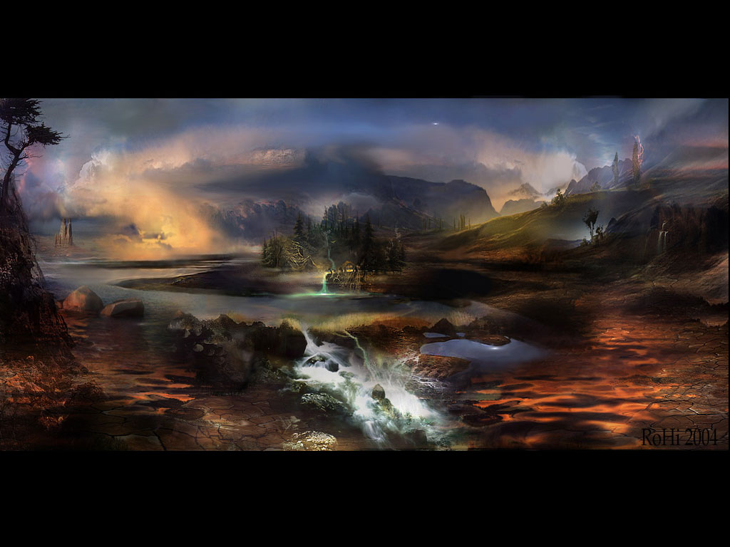 3d art wallpapers digital fantasy artist free 3d - 3d fantasy wallpaper ...