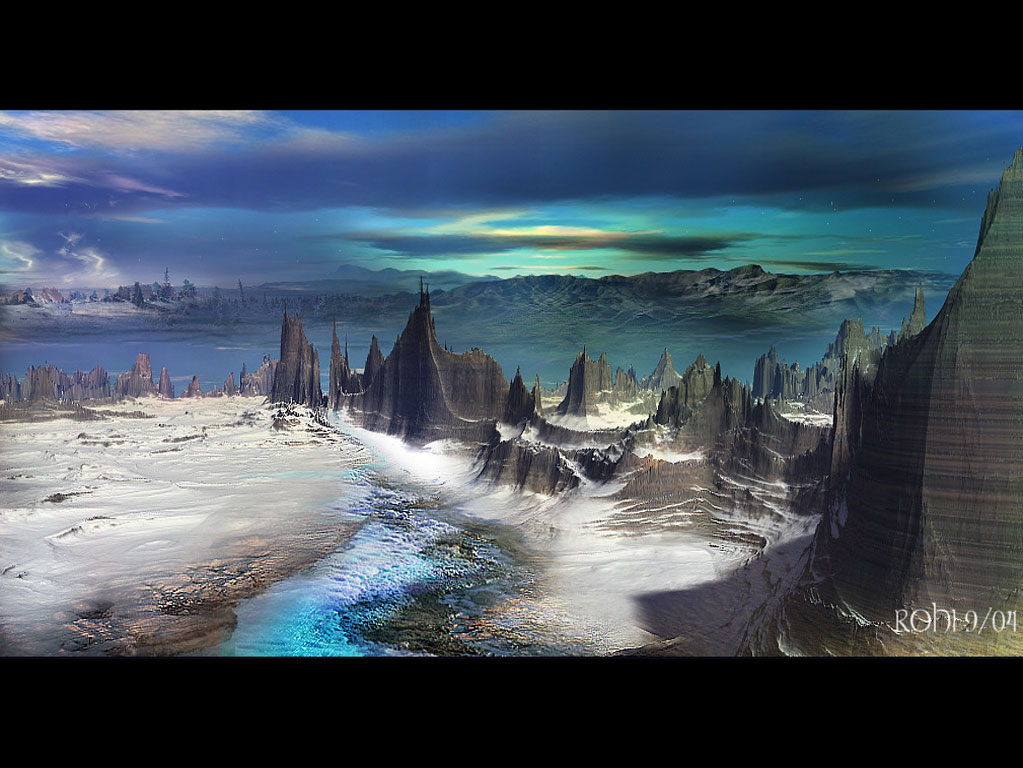 ... digital fantasy artist: free 3d landscape wallpapers downloads