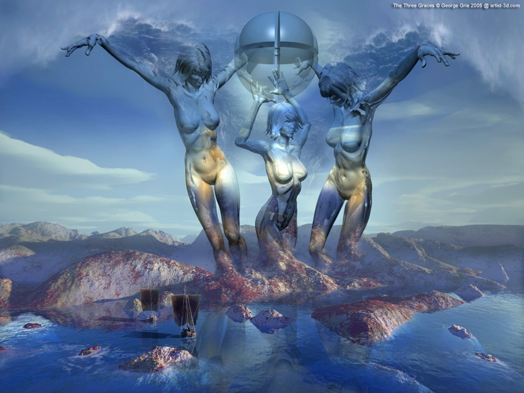 Art 3D Wallpapers: digital art pictures free modern artists images. 3d