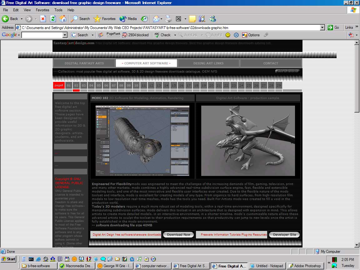 Free Digital 3d Art Software Download Free 3d 2d