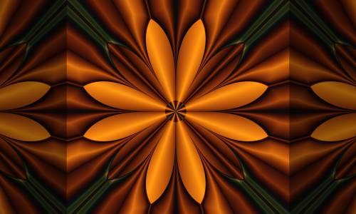 Wooden Flower Fractal Software By Fractal Explorer 2d Digital Art Abstract