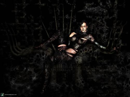 wallpaper black 3d. Wallpaper image: Black Widow,