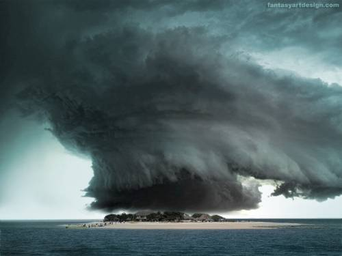 Wallpaper image: Bermuda Triangle Secrecy, Nature, Photo Manipulation,