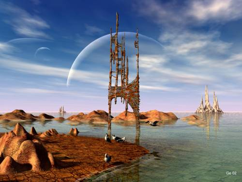 Unspecified sci-fi art image by C. Gerber - desktop wallpaper 800 x ...