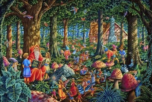 Wallpaper image: Fairy Tales,