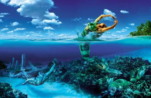 Wallpaper image: Zodiac Sign: Pisces, Fantasy Art, 2D Digital Art, Fantasy
