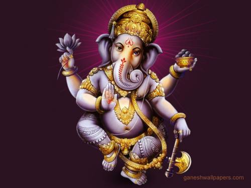 Desktop Wallpaper Of Ganesha. Wallpaper image: Ganesh