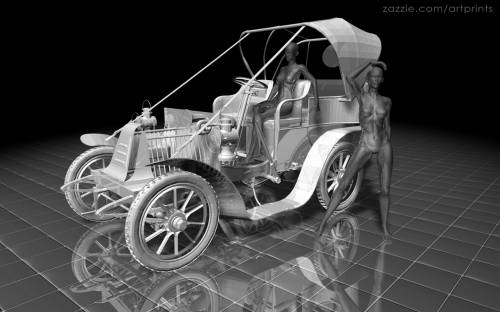 Classic Car Showcase Antique Autoshow By Artprints Universe D - Classic car showcase