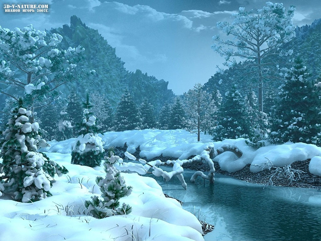 Wallpaper Nature Winter