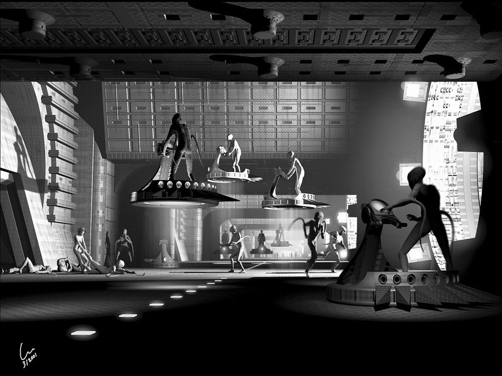 Unspecified sci-fi digital art image by J  Lee, 3D Digital