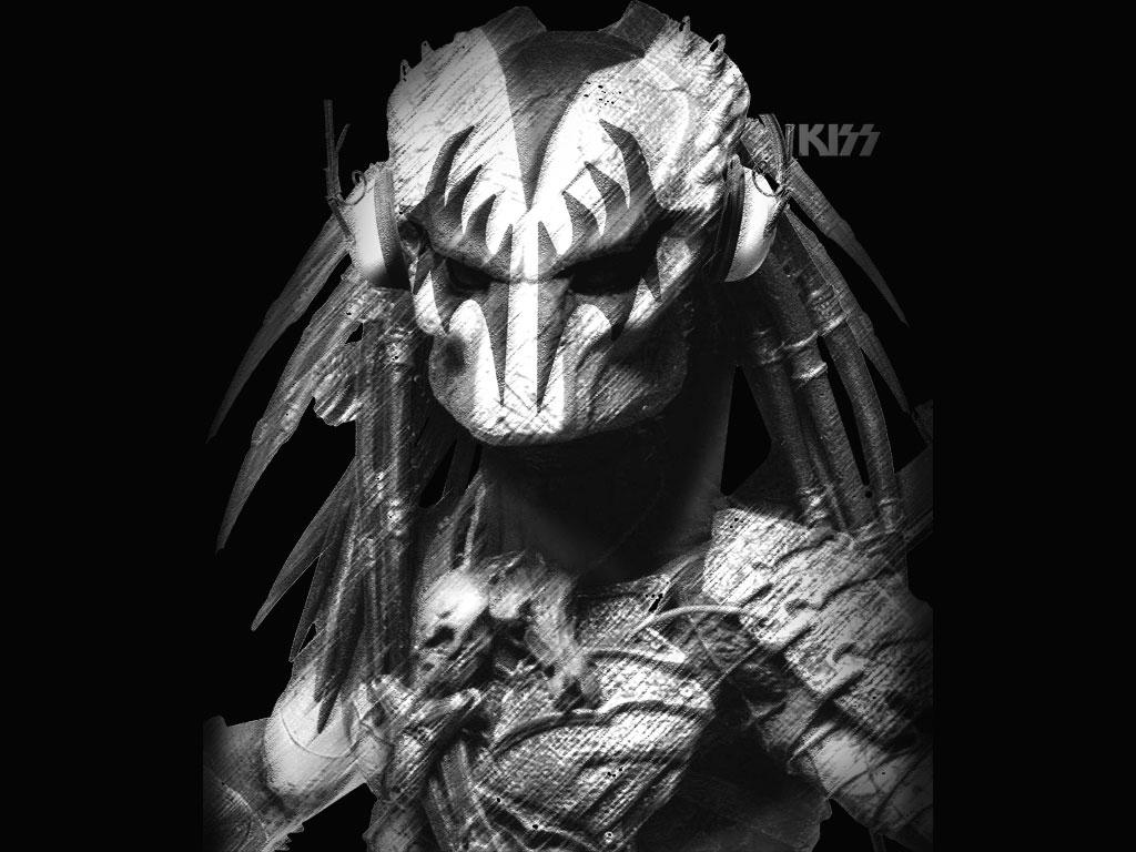 Predator Kiss Band By Skull Kiss 2d Digital Art Science