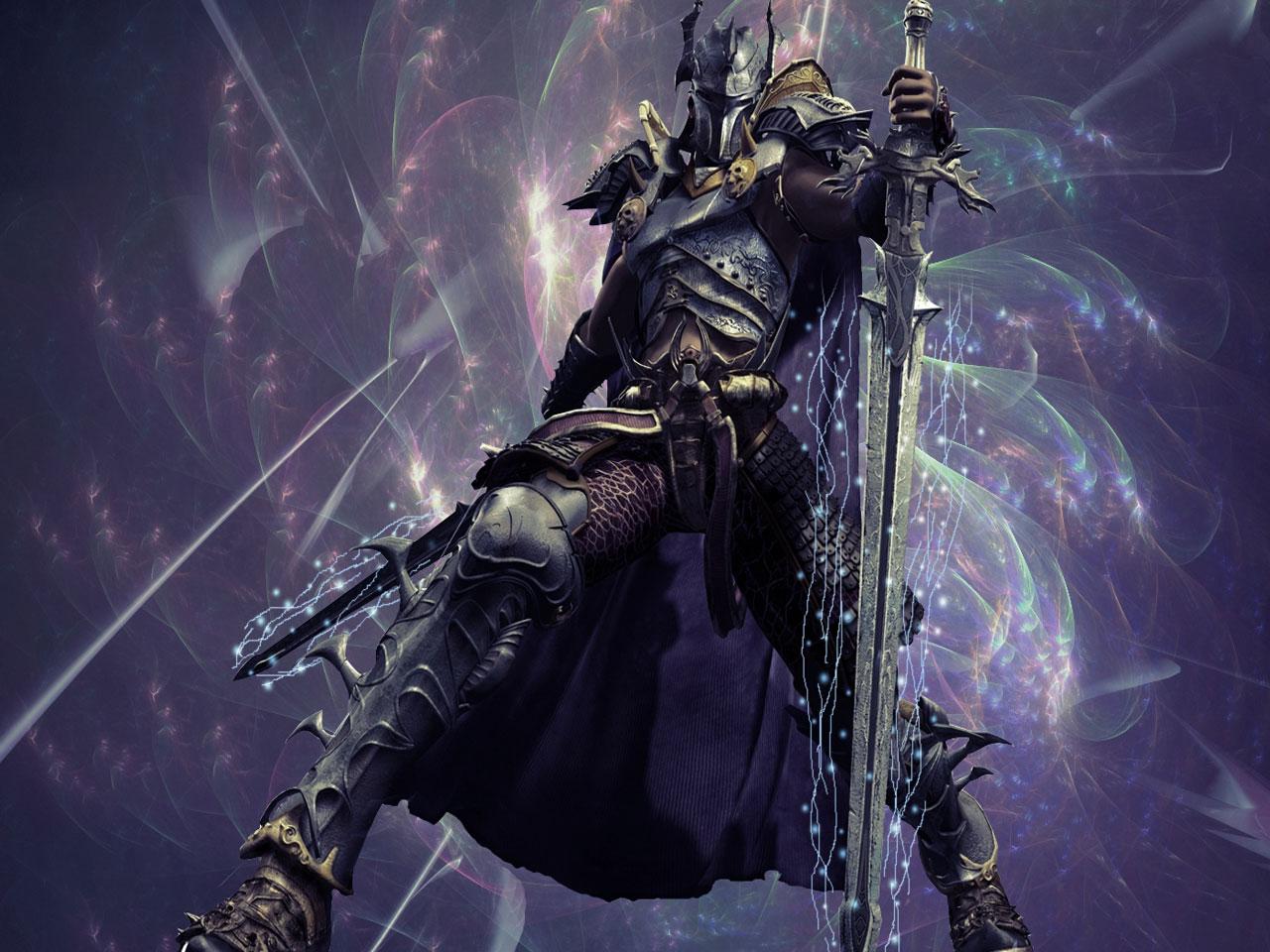 Fantasy Death Knight Art
