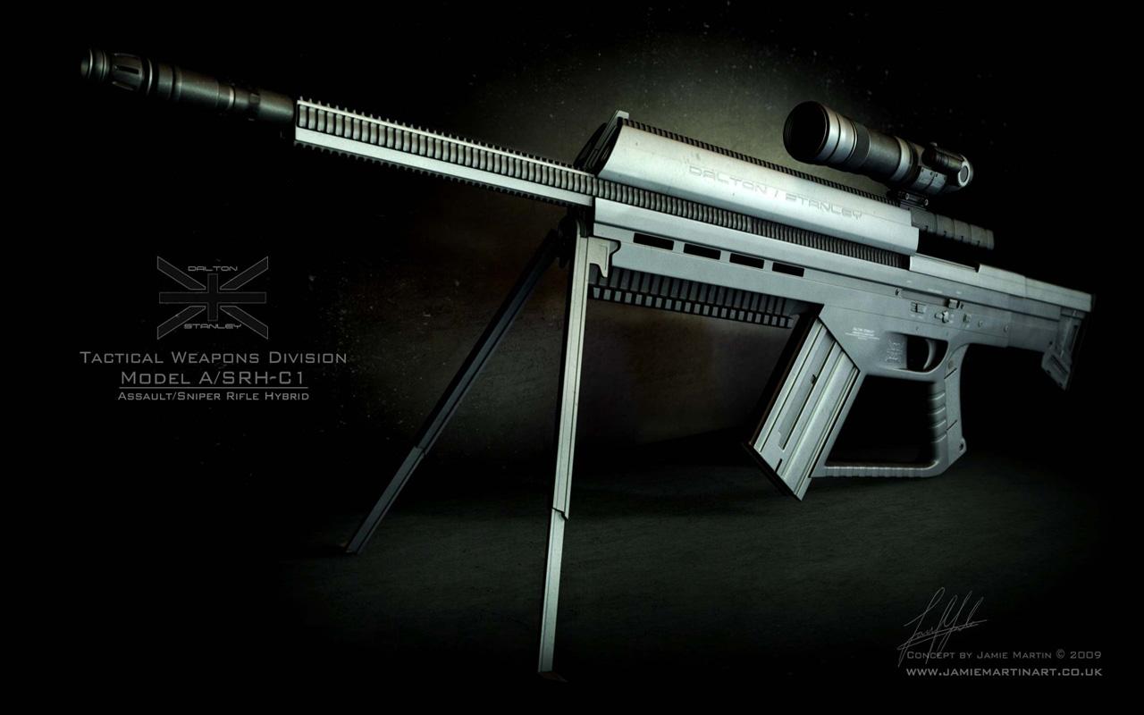 Assault Sniper Rifle, 1280 x 800pix wallpaper Mixed Style ...