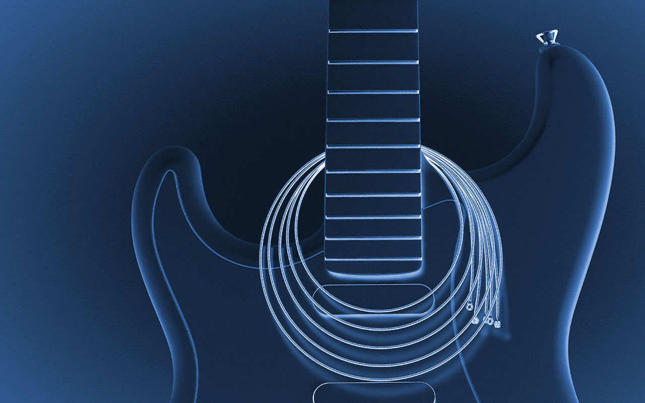 Rock Blues Music Guitar Wallpaper By Andre Havt Photo