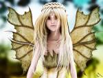 Wallpaper image: Nadie Elfin Princess, 3D Digital Art