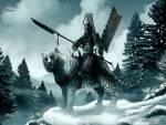 Wallpaper image: White Tiger Clan, 2D Digital Art