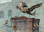 Wallpaper image: The integral sphinx., 3D Digital Art