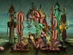 Wallpaper image: Surreal Dynamic painting v3, 2D Digital Art