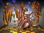 Wallpaper image: Surreal Dynamic painting v4, 2D Digital Art