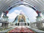 Wallpaper image: The Great Temple, 3D Digital Art