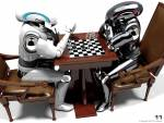 Wallpaper image: 11 chess game, 3D Digital Art