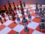 Wallpaper image: Abstraction chess, 3D Digital Art