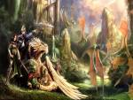 Wallpaper image: Wanderers of Ravine, 2D Digital Art