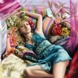 Wallpaper image: Ayumi Hamasaki, 2D Digital Art