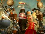 Wallpaper image: Bottle parade, the happiness factory, 3D Digital Art