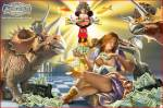 Wallpaper image: The Magical World of Disney, 2D Digital Art
