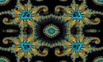 Wallpaper image: Abstract ornamental design, 2D Digital Art