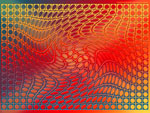 Wallpaper image: Toreador dance OP-art, 2D Digital Art